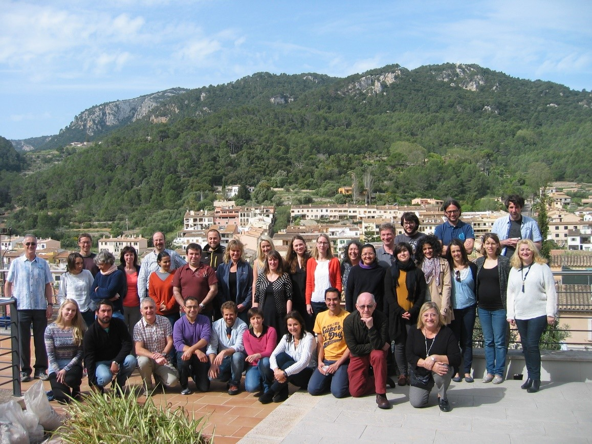 WKGIC2 group picture IMEDEA Esporles Spain 21 April 2016