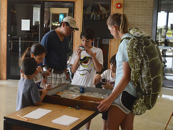 Visitors Get Excited about Estuaries