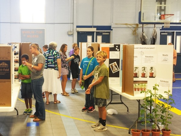 Putting the Science into the Port Aransas Science Fair