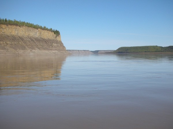 Too Much of a Good Thing - Carbon from Permafrost in Mackenzie River Basin