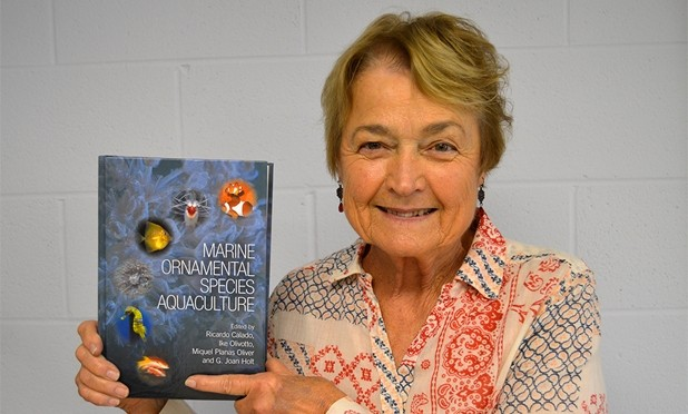 Holt's New Book is a Resource for Raising Coral Reef Species