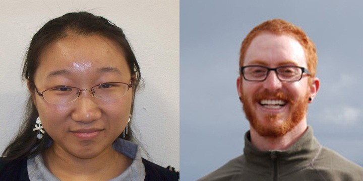 Graduate Students, Shuting Liu and Matt Khosh receive Bruton Fellowship