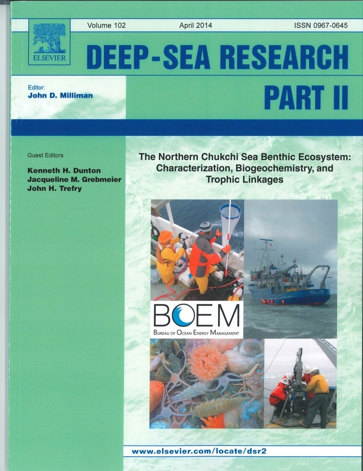 Dr. Ken Dunton guest editor of Deep-Sea Research Part II