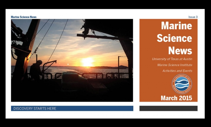 Check out the latest edition of Marine Science News
