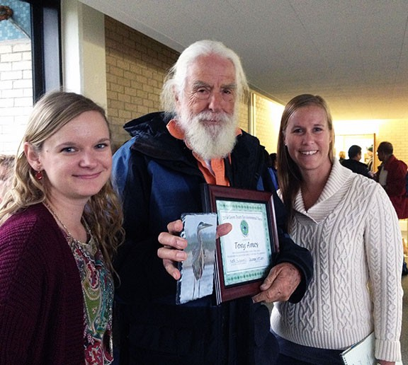 Tony Amos Receives Green Team Environmental Hero Award