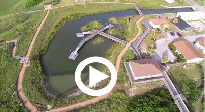 See it from a bird's eye view in this video.